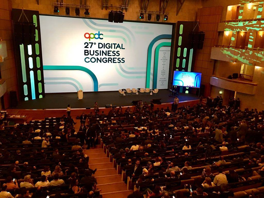 Blue Screen was present at the 27th Digital Business Congress by APDC