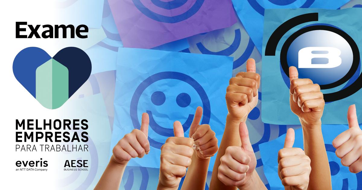 Blue Screen premiada como uma das 100 melhores empresas para se trabalhar
