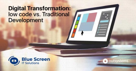 Digital Transformation: low-code vs traditional development -  Who wins and why?